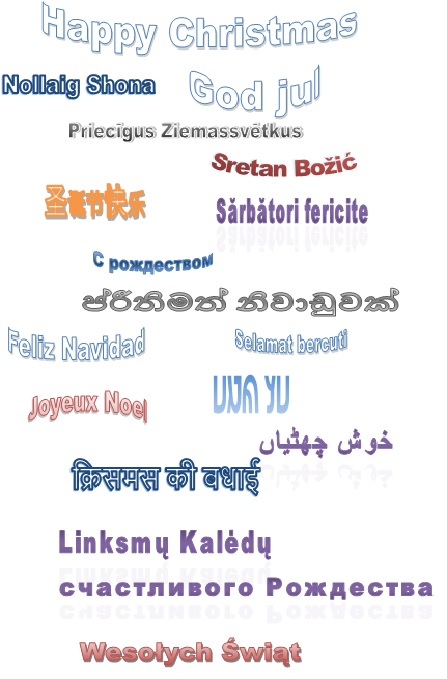 Christmas Languages